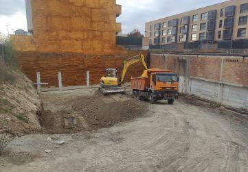 Inicio obra - excavación