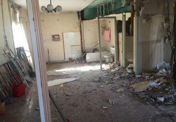 desescombrado del interior del edificio 2