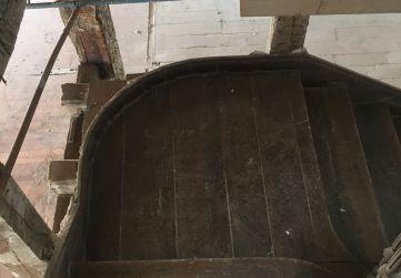 pilares zona escalera