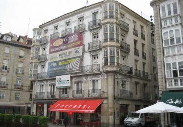fachada esquina calle Herrería