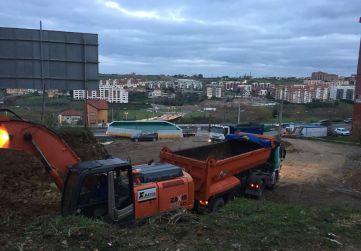 Preparación trabajos de urbanización
