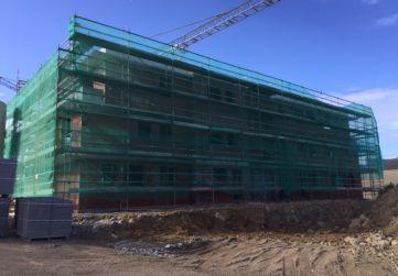 Fachada norte Edificio Pico Jano