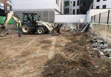 excavaciones parcela 2