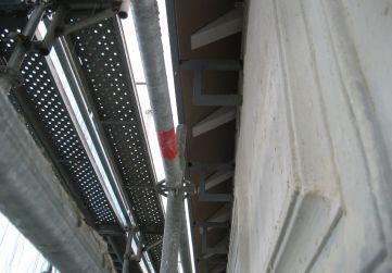 soportes canalón y cornisa