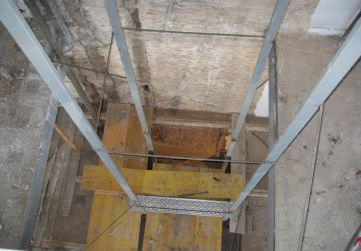 estructura hueco ascensor
