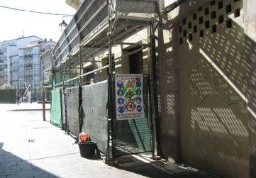 marquesina protección calle Herrería