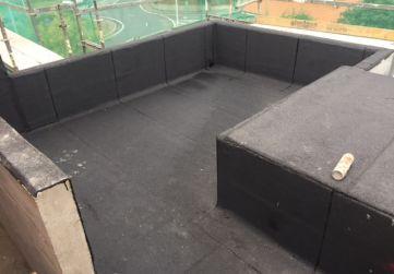 Impermeabilización cubierta ascensor