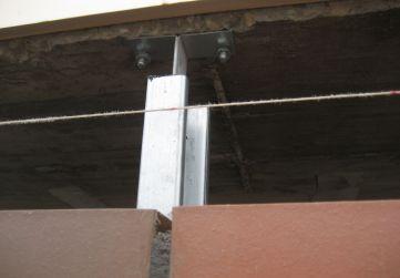 soporte intermedio fachada GHAS