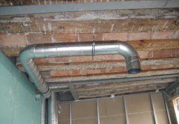 conducto ventilación campana extractora
