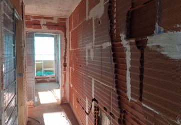Preparación de rozas para instalaciones en vivienda