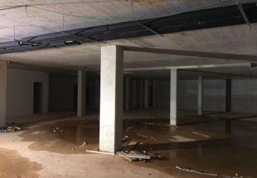 Vista garaje