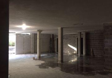 Vista estado garaje