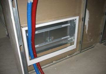 armario colector calefacción