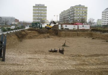 excavación en vaciado