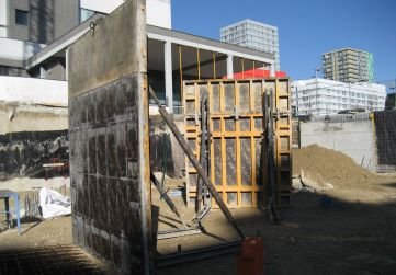 Material encofrado muros