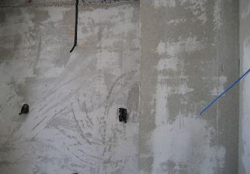 enfoscado cuartos húmedos