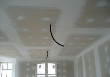 Falsos techos laminados