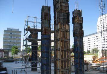 Encofrado pilares P. Baja Boque 1