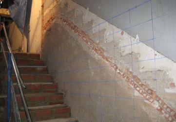 Demolición Bóveda Escalera