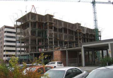 Vista general fachada posterior