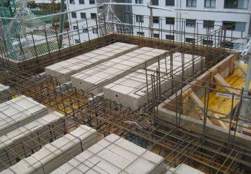 Zona techo caja escaleras