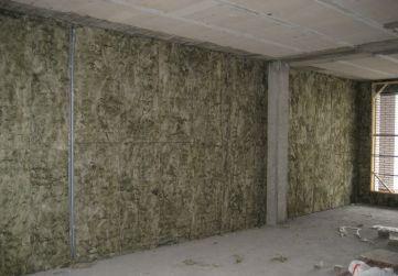 Aislamiento térmico en trasdosado de fachada