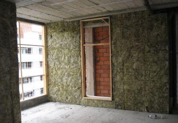 Aislamiento termico fachada tendedero