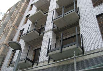 Estructura balcones