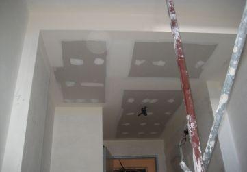 Falso techo yeso laminado