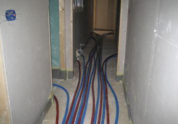 Comienzo instalación de calefaccion
