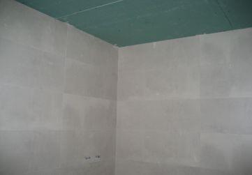 Falsos techos en cuartos humedos