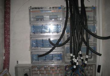 Contadores instalación eléctrica