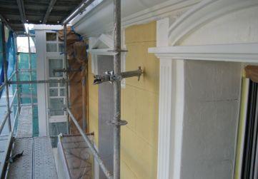 Trabajos pintura en fachada