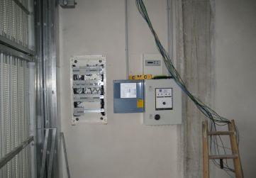 Centralización cuadros garaje