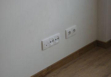Colocación mecanismos eléctricos