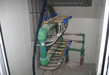 Cuarto contadores de agua